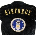 Black Leather Air Force Jacket