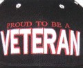 Proud to be a Veteran Cap
