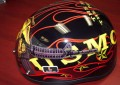 DOT Outlaw T-70 Glossy Motorcycle Half Helmet with Officially Licensed U.S. Marines Graphics